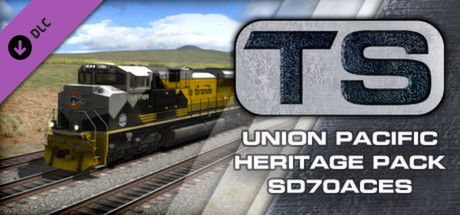 Union Pacific Heritage SD70ACes Loco Add-On