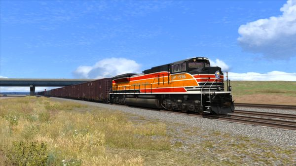 скриншот Union Pacific Heritage SD70ACes Loco Add-On 0