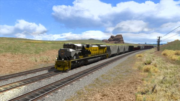скриншот Union Pacific Heritage SD70ACes Loco Add-On 5
