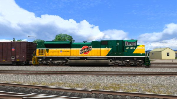 скриншот Union Pacific Heritage SD70ACes Loco Add-On 1