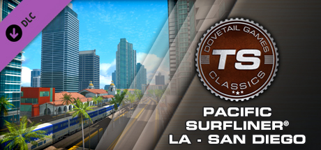 Купить Train Simulator: Pacific Surfliner® LA - San Diego Route