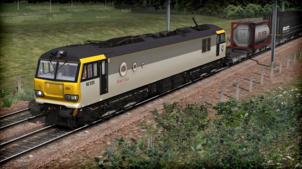 скриншот EWS Class 92 Loco Add-On 1