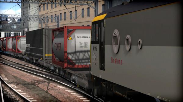 скриншот EWS Class 92 Loco Add-On 2