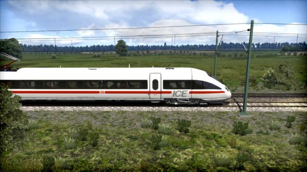 скриншот DB BR 411 'ICE-T' EMU Add-On 2