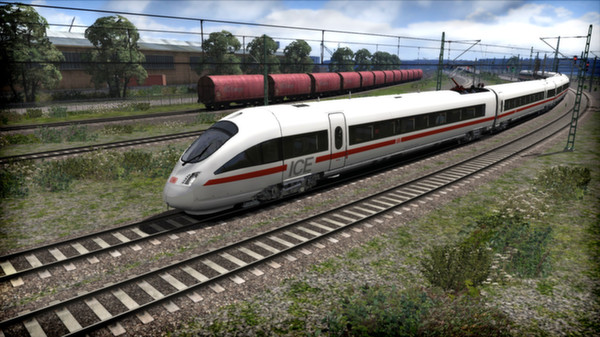 скриншот DB BR 411 'ICE-T' EMU Add-On 1