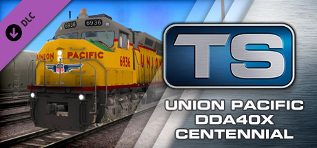Union Pacific DDA40X Centennial Loco Add-On