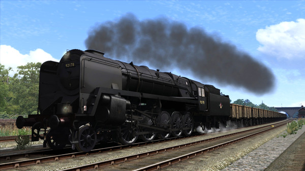 скриншот Train Simulator: BR 9F Loco Add-On 5