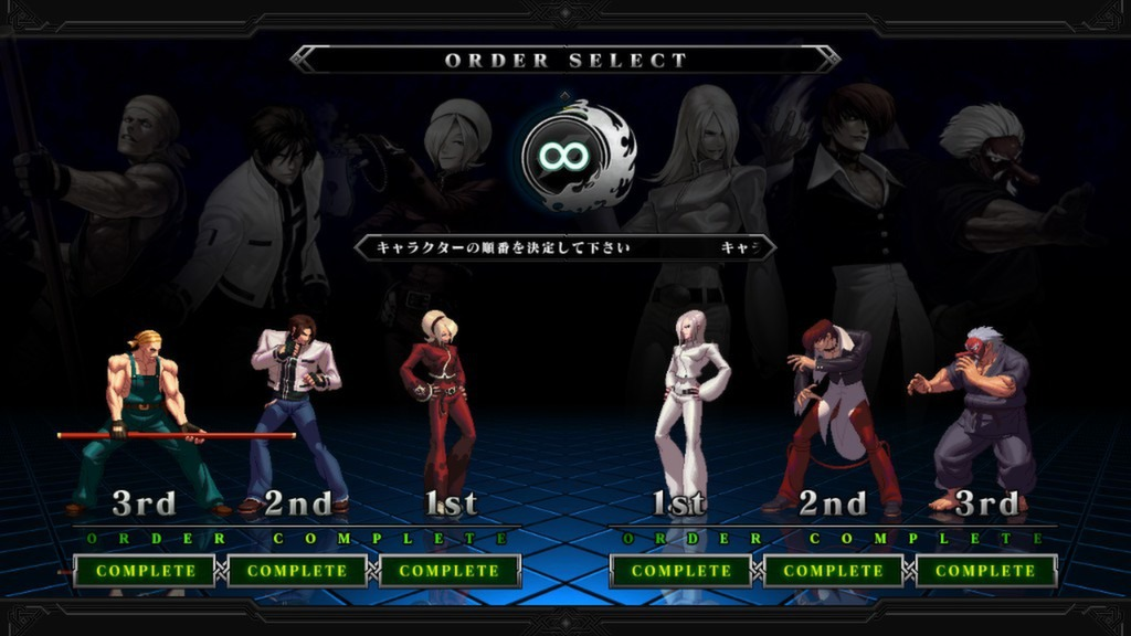 the king of fighters xiii steam edition characters