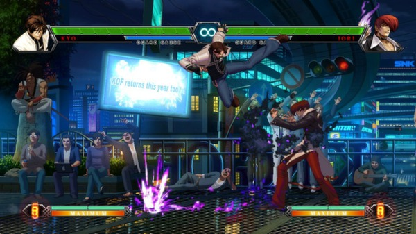 скриншот THE KING OF FIGHTERS XIII STEAM EDITION 5