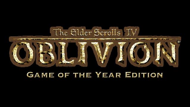 The Elder Scrolls IV: Oblivion® Game of the Year Edition logo