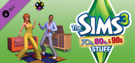 Купить The Sims 3 70's, 80's and 90's (DLC)