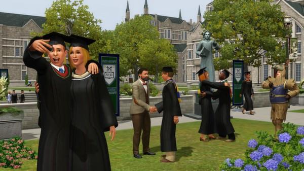 скриншот The Sims 3: University Life 3