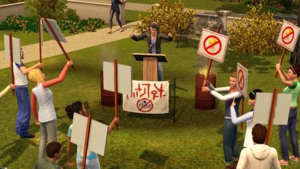 скриншот The Sims 3: University Life 4