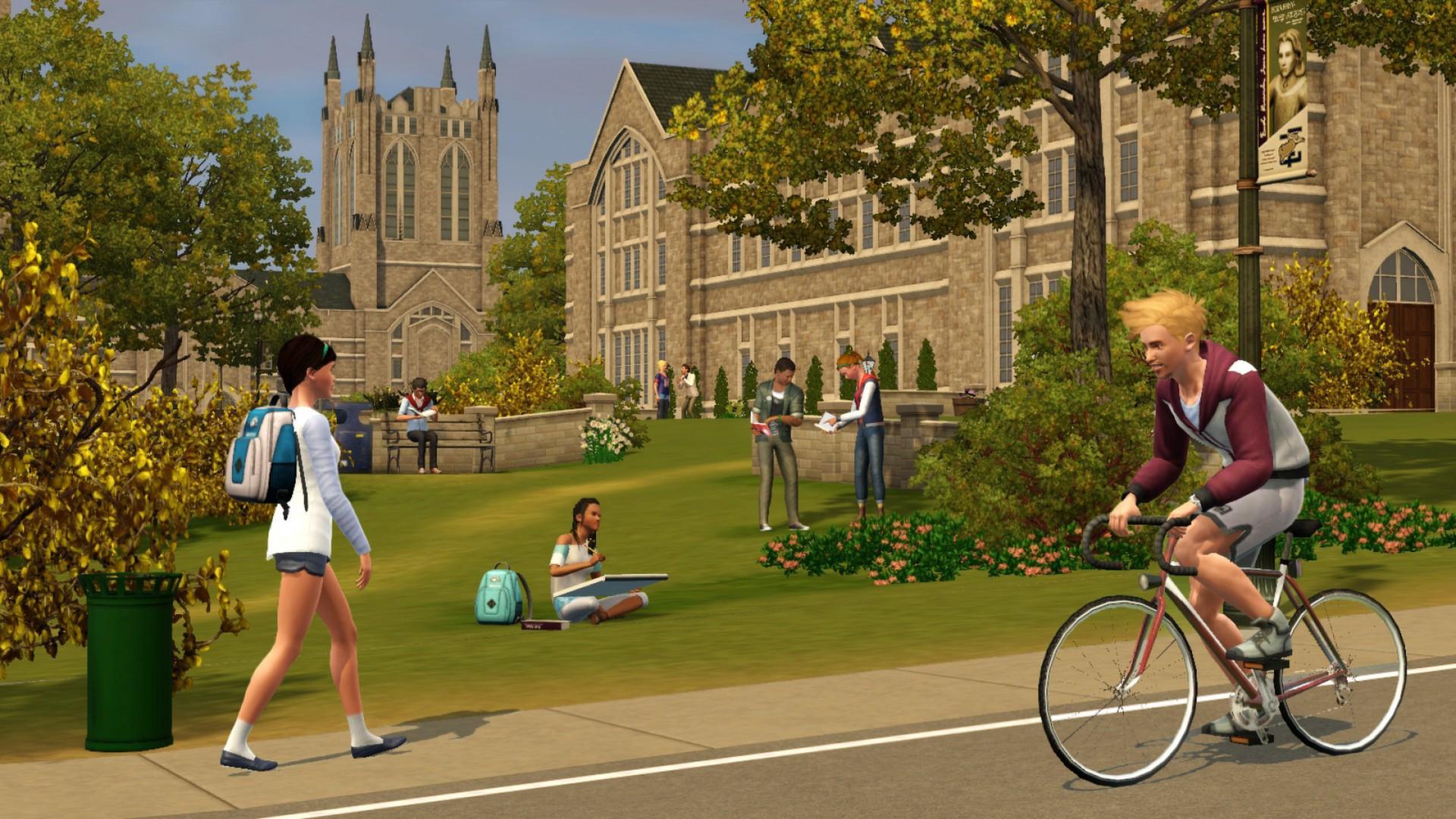 Online Dating Sim 3 Πανεπιστήμιο