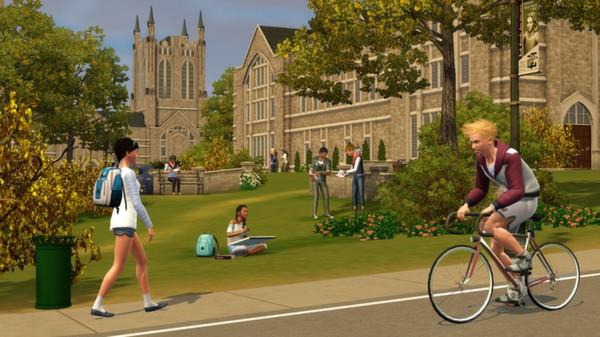 скриншот The Sims 3: University Life 2