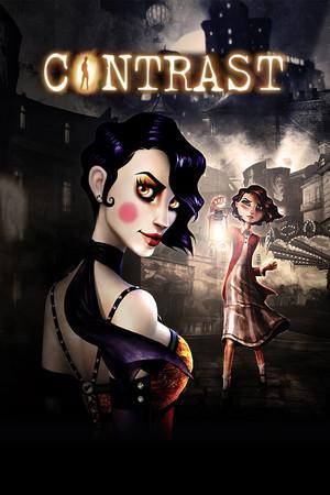 Contrast poster image on Steam Backlog