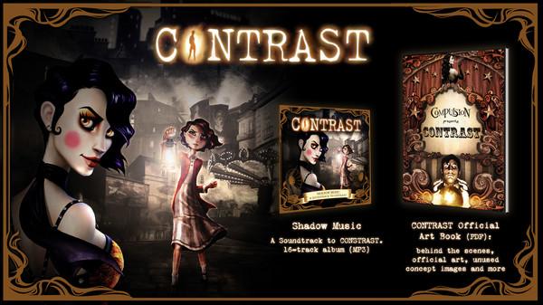 Contrast - Original Soundtrack and Art Book (DLC)