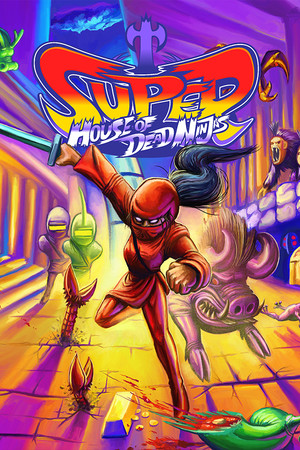 Super House of Dead Ninjas poster image on Steam Backlog