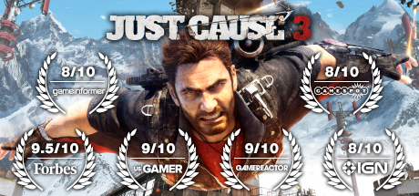 Just Cause 3, геймплейный ролик с PS4