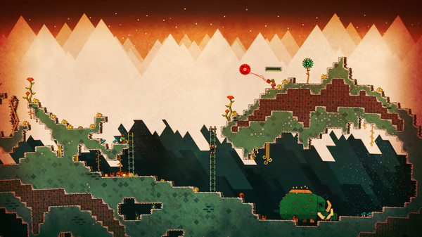PixelJunk™ Nom Nom Galaxy Screenshot