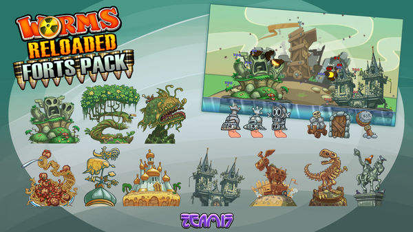 Worms Reloaded: Forts Pack (DLC)