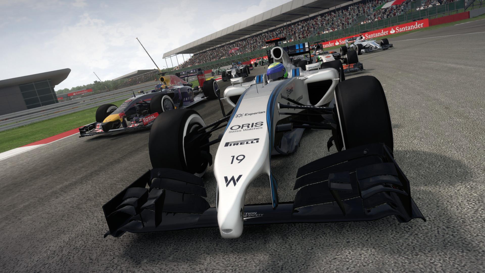 F1 2014 Multilenguaje ESPAÑOL PC (RELOADED/PROPHET) 4