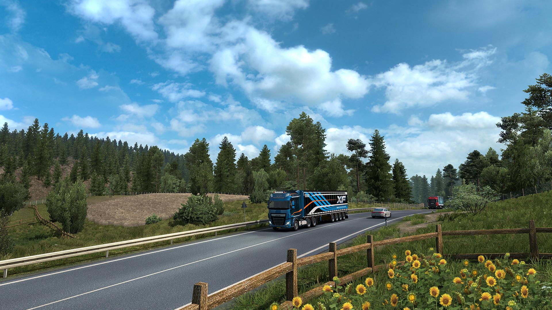 Euro Truck Simulator 2 Mac 破解版 欧洲卡车模拟器