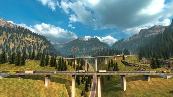 скриншот Euro Truck Simulator 2 8