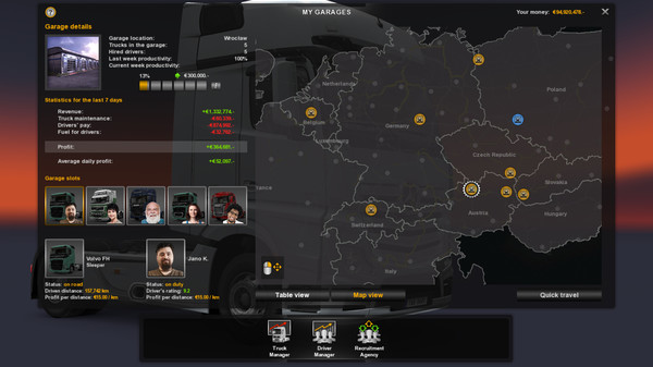 скриншот Euro Truck Simulator 2 11