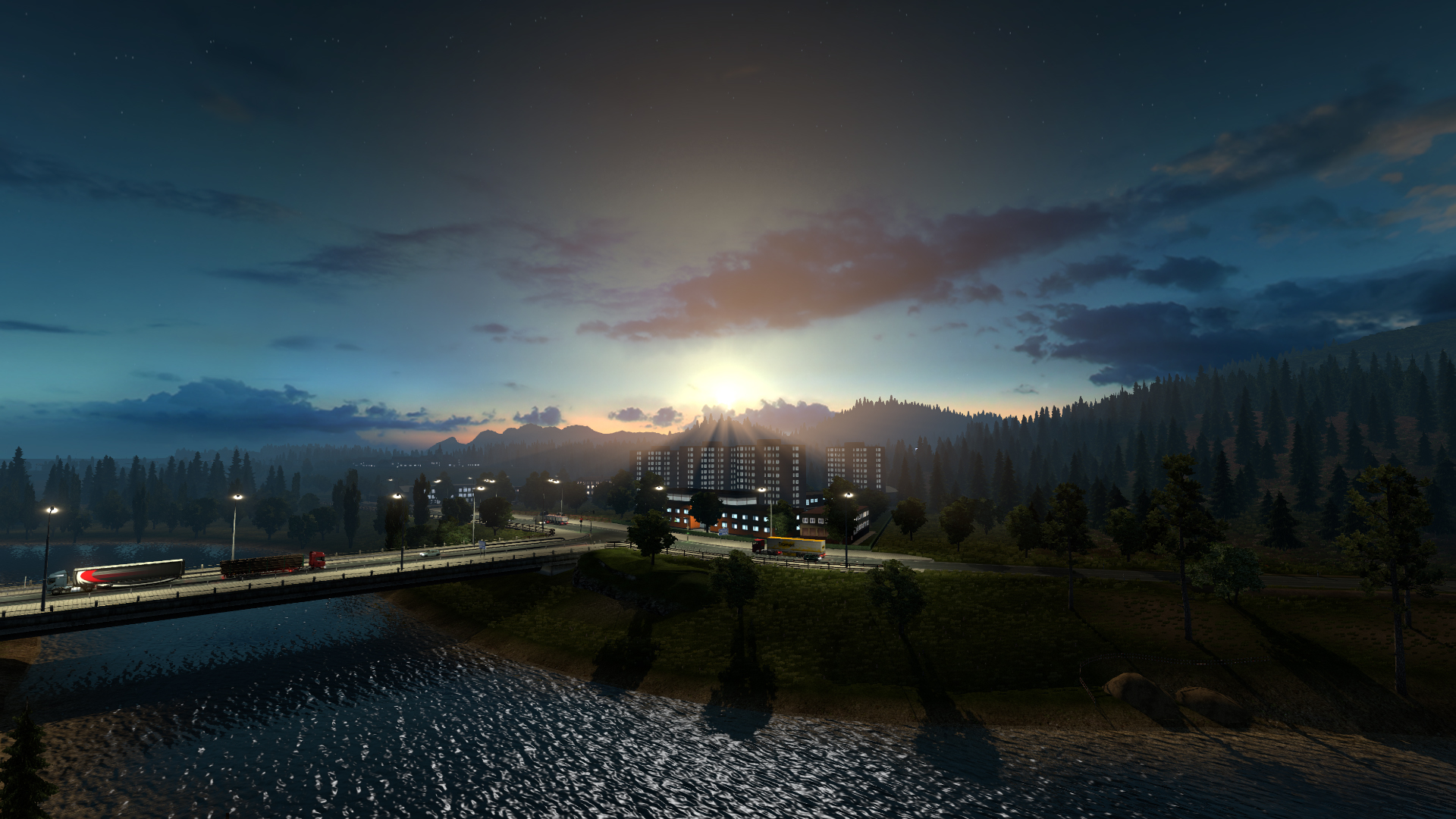 Euro Truck Simulator 2 pc game v1 25 2 6