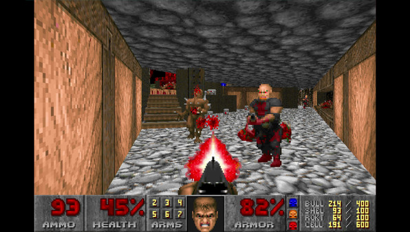 скриншот Ultimate Doom 1