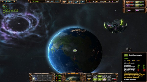 Sins of a Solar Empire: Rebellion - Forbidden Worlds® DLC