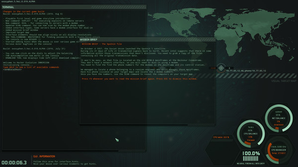 Hacker Evolution IMMERSION 0
