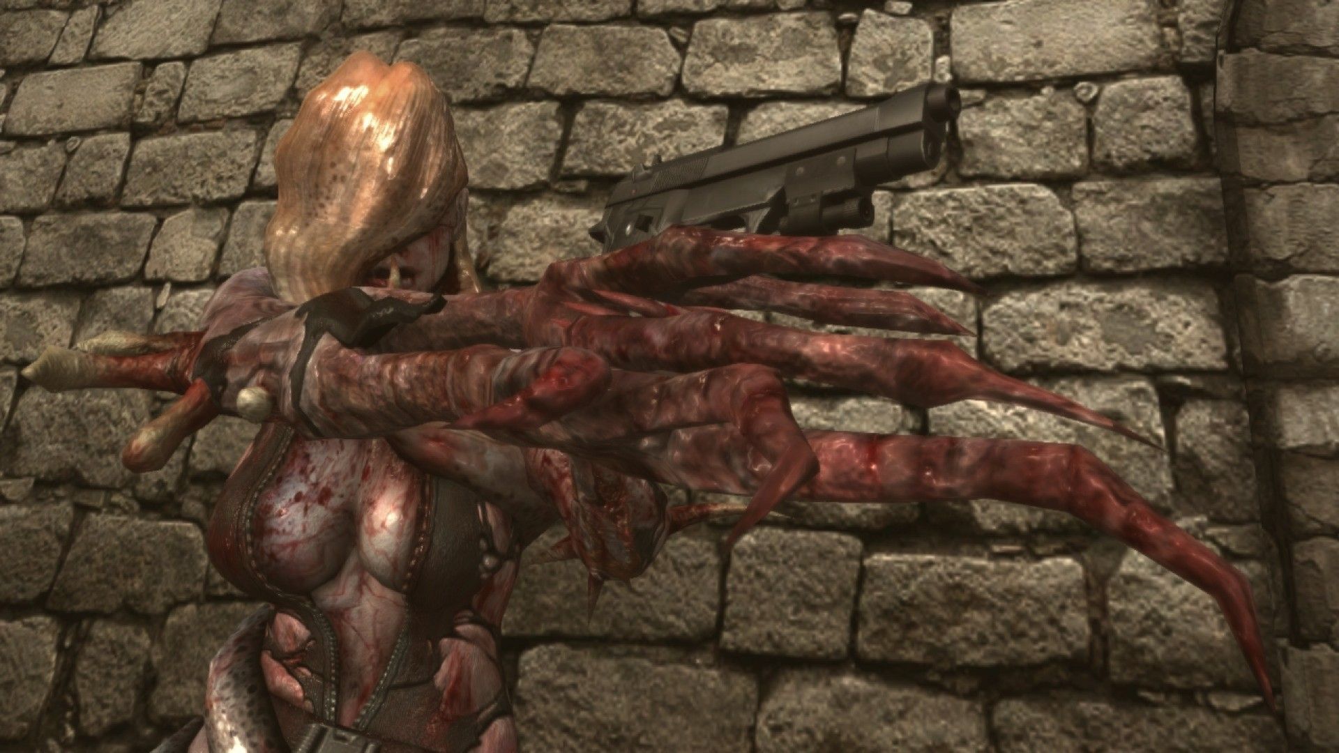 Resident Evil: Revelations Rachael Ooze DLC