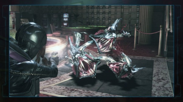"""Resident Evil: Revelations Jessica's G18 + Custom Part: """"BSAA"""" (DLC)"""