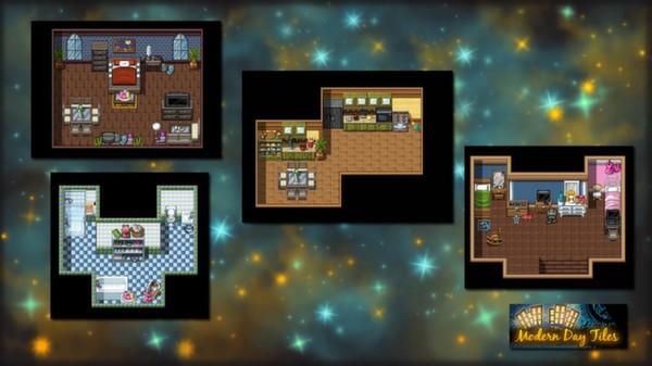RPG Maker VX Ace - Modern Day Tiles Resource Pack (DLC)