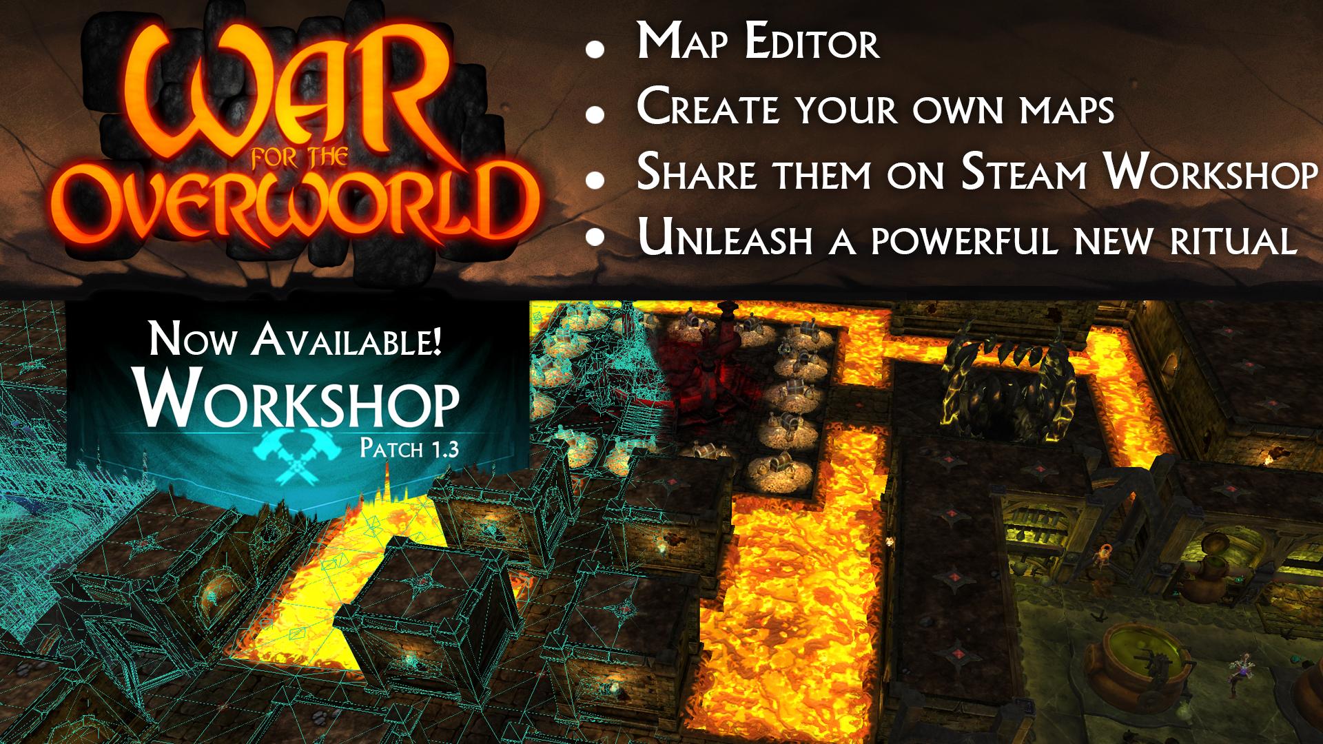 War for the Overworld screenshot