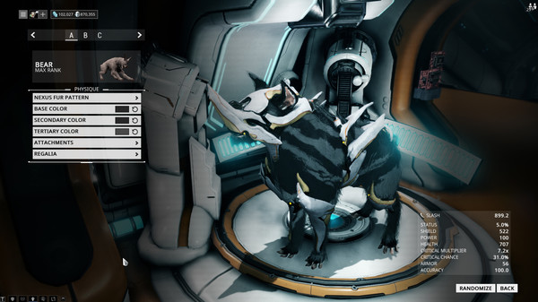 Скриншот из Warframe
