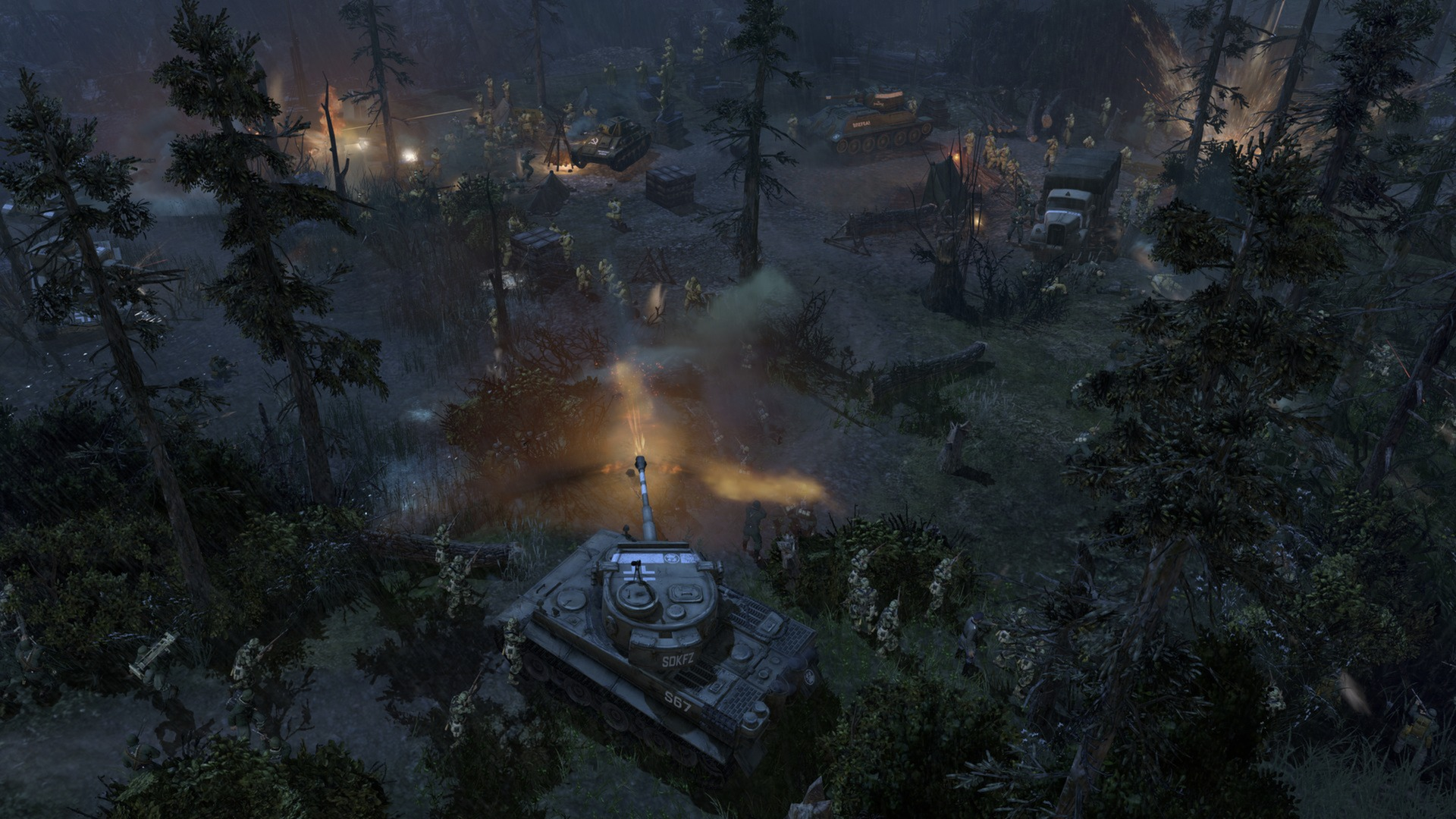 Company of heroes: eastern front on steam.