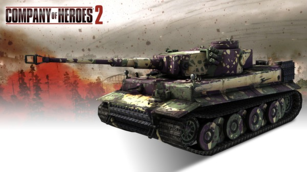 COH 2 - German Skin: (H) Three Color Ambush Pattern (DLC)
