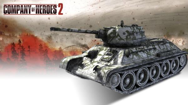 COH 2 - Soviet Skin: (M) Winter Whitewash Voronezh Front (DLC)