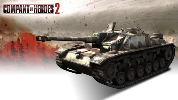 COH 2 - German Skin: (M) Late War Factory Pattern (DLC)