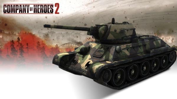COH 2 - Soviet Skin: (M) Three Color Northwestern Front (DLC)