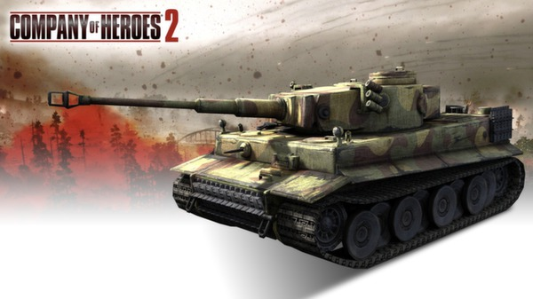 COH 2 - German Skin: (H) Three Color Disruptive Pattern (DLC)