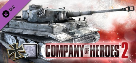 COH 2 - German Skin: (H) Winter Ambush Pattern