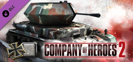 COH 2 - German Skin: (M) Four Color Disruptive Pattern