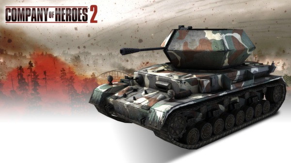 COH 2 - German Skin: (M) Four Color Disruptive Pattern (DLC)