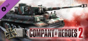 COH 2 - German Skin: (H) Four Color Disruptive Pattern