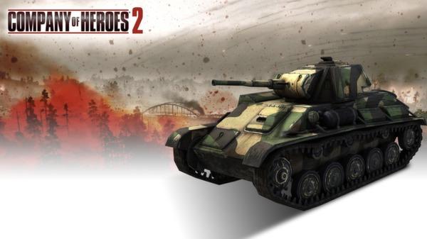 COH 2 - Soviet Skin: (L) Three Color Northwestern Front (DLC)