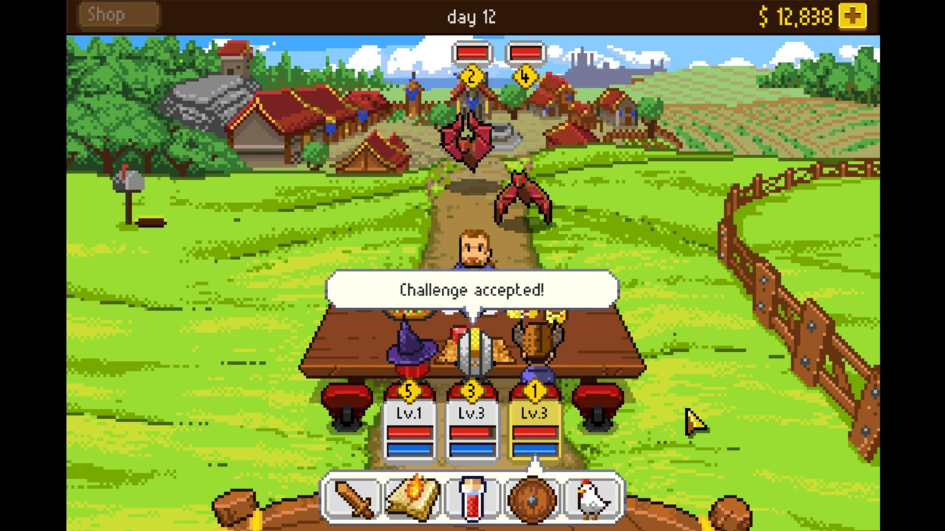 Knights of Pen & Paper Review: The Pen is Mightier than the Sword!